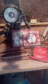 10 inch Craftsman Radial Arm Saw and accessories in Quad Cities, Iowa