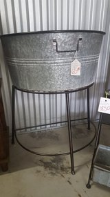 LARGE METAL TUB ON STAND in Camp Lejeune, North Carolina