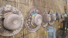 STRAW HATS (wall art) in Camp Lejeune, North Carolina