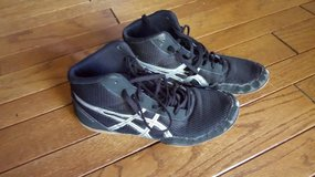 Wrestling Shoes - worn only one season in Bolingbrook, Illinois