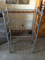 Crate and Barrel wine rack in Sandwich, Illinois