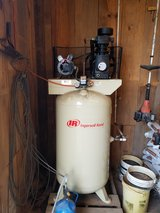 Stationary Ingersoll Rand 5 hp Air Compressor ; Victor Torch;Metal Chop Saw in Leesville, Louisiana