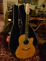 Ovation Guitar with Hard Shell Case in Stuttgart, GE
