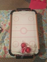 Table top air hockey game in Elgin, Illinois
