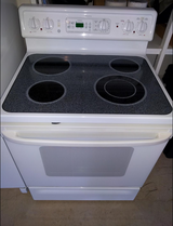 Glass-top electric range and oven in Fort Sam Houston, Texas