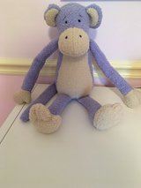 Large Periwinkle Purple Stuffed Monkey from LAND OF NOD in Chicago, Illinois