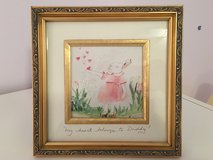 """""""My Heart Belongs to Daddy"""" Framed Picture for Little Girl's Room in Bolingbrook, Illinois"""