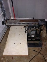 "Large 10"" aprox. from 1969 Vintage Sears Craftsman Electrical Radial Saw with blade $130 obo see... in Macon, Georgia"