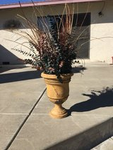 fake flower pot in Travis AFB, California