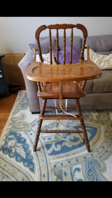 Vintage Highchair in Camp Pendleton, California