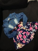 2T Floral Jeans Dress in Fort Campbell, Kentucky