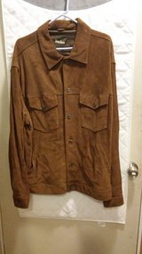 Mens Neiman Marcus Brown Suede Jacket XXL in 29 Palms, California