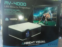 AV-4000 smart projector trade for a 60 or 65inch smart tv in Lawton, Oklahoma