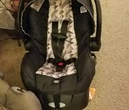 Carseat in good condition with base in Fort Polk, Louisiana