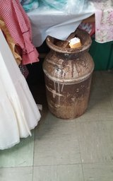 Antique Milk Can with Lid in Leesville, Louisiana