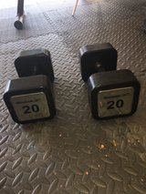 20 lb. dumbells in Fort Bragg, North Carolina