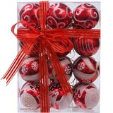 NEW...24 RED AND WHITE ORNAMENT SET in Fort Campbell, Kentucky