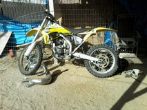 YZ 250 dirt bike in 29 Palms, California