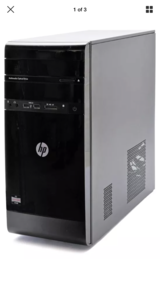 HP desktop computer w/ box in Fort Leonard Wood, Missouri