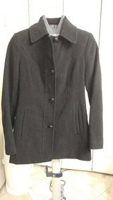 Ladies Black London Fog Wool Coat in CyFair, Texas
