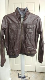 Dark brown bomber jacket in CyFair, Texas