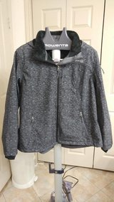 New dark grey ladies hooded jacket in CyFair, Texas