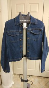 Ladies Tommy Hilfiger blue jean jacket in CyFair, Texas