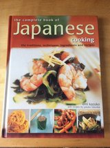 The Complete Book of Japanese Cooking in Okinawa, Japan