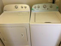 Whirlpool Washer and Dryer Set in Fort Bragg, North Carolina