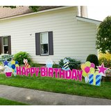 Coroplast Birthday/Seasonal Signs in Pasadena, Texas