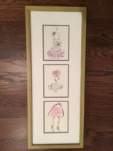 Framed Wall Art for Girl's Room - Paris Theme in Bolingbrook, Illinois