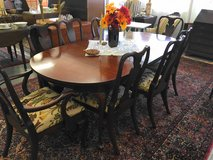 Dining Table & 8 Chairs in Camp Lejeune, North Carolina