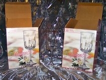 "Fancy Water Goblets! Discontinued Pattern ""Moments"" for your Holday Table! in Alamogordo, New Mexico"