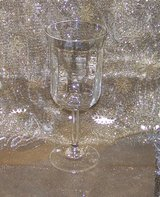 "CRYSTAL WATER GOBLET, Set of 4, Discontinued Anchor Hocking ""Moments"" in Alamogordo, New Mexico"