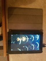 kindle fire tablet with case and charger in Travis AFB, California