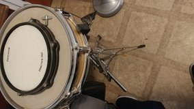 Ludwig drum in Fort Bliss, Texas