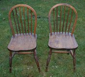 2 x WOODEN CHAIRS in Lakenheath, UK