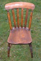 NICE WOODEN CHAIR in Lakenheath, UK