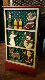 Adorable World Bazaar Xmas Cabinet in Camp Lejeune, North Carolina