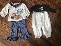 Little Girls 6-9 Months Boutique Outfits in Dover, Tennessee