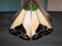 Vintage Tiffany Style Billards/ Bar Hanging Lampshade in Oswego, Illinois