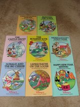 "WALT DISNEY ""ADVENTURES IN DIFFERENT COUNTRIES) SMALL LIBRARY SET OF 8 in Camp Lejeune, North Carolina"