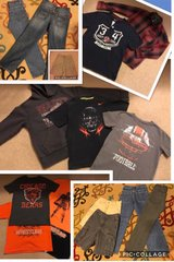 Boys Size 7/8 Clothes. Hoodie, Shirts, Jeans, Pants. Name Brand in Fort Leonard Wood, Missouri