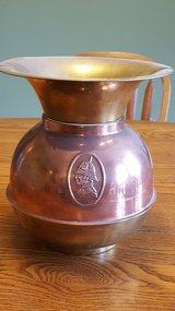 Copper and Brass Spittoon in Ottawa, Illinois