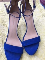Blue Suede Stilletto Shoes& Black Suede in Kingwood, Texas