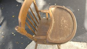 antique high chair in Orland Park, Illinois