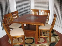 Breakfast Table w/6 chairs in Leesville, Louisiana
