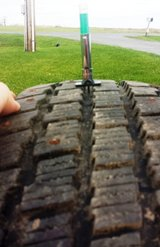 Studded Snow Tires 205/55R16 in Watertown, New York