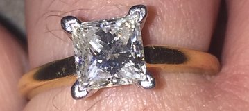 1.02ct princess cut engagement ring in Fort Hood, Texas