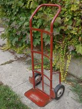 Red Craftsman Dolly Hand Cart in St. Charles, Illinois